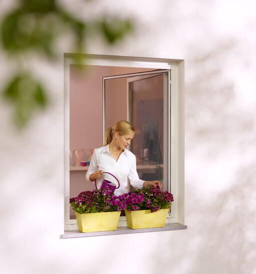 Insektenschutz Drehfenster