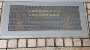 ELSA Lichtschachtabdeckung mit unsichtbarem Einbruchschutz
