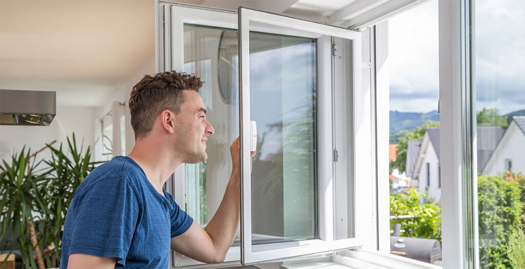 Neher Insektenschutz Pendelfenster Drehfenster Fliegengitter